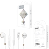 Hoco Earphones L8 Type-C Bluetooth Headphones With Mic White