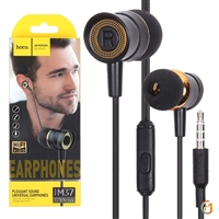 Hoco M37 Hi Fi sound Universal Wired Earphones With Microphone Black
