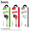 Hoco M51 Proper Sound Universal 3.5mm In-ear Wired Earphones with Mic White