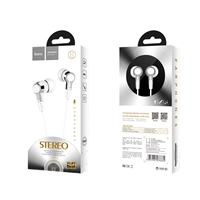 Hoco M52 Amazing Rhyme Universal Wired Earphone with Mic White