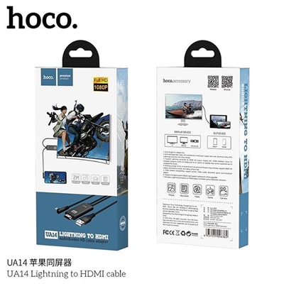 Hoco UA14 Aluminum Alloy Shell Lightning To HDMI Cable