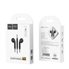 Hoco M55 Memory Sound Wired Control Earphones With Mic Black