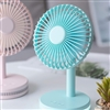 Remax RL-FN10 Modern 7 Portable USB Silent Charging Fan Pink