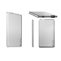 Mophie Ultra Slim 2X Powerstation 4000 mAh 5V/2.4A Powe Bank Silver