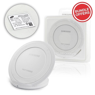 Wireless Charging Pad EP-NG930 Charging Dock Stand 5V/2A White (5 Pcs Bundle)