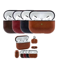 AirPods Pro Protective Leather Case Brown