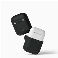 Apple AirPods Protective Silicone Case Black