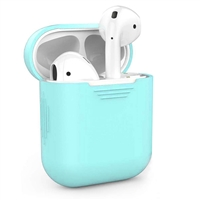 Apple AirPods Protective Silicone Gel Case Mint