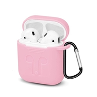 Apple AirPods Protective Silicone Gel Case Pink