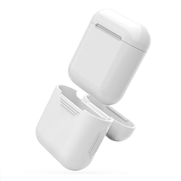 Apple AirPods Protective Silicone Gel Case White