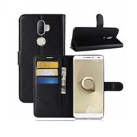 Alcatel 3v Premium Wallet Case Black