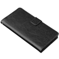 "Alcatel Pixi 4 6"" 4G Wallet Case Black"
