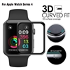 Apple Watch 44mm 3D Full Glue Tempered Glass Black