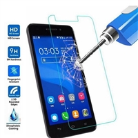 Alcatel Shine Lite Tempered Glass (with package)