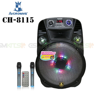 Avcrowns CH-8115 Trolley Case Design Bluetooth Speaker