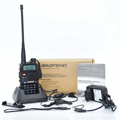 Baofeng B2 Plus Dual Band  Walkie-Talkie VHF/UHF 136-174/400-520MHz Single