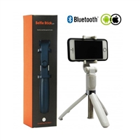 L01 3 in 1 Handheld Extendable Bluetooth Selfie Stick Tripod White