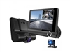 Car front recorder, car interior and reversing camera