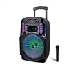 Avcrowns CH-86 Bluetooth Trolley Speaker 1800W With Mic Black