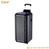 CQA Q-528 10 Inch PMPO – 1000W Bluetooth Trolley Speaker