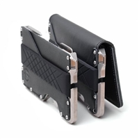 Dango Design HC-D02 Leather Dapper Wallet Case Black