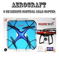 SYMA Aerocraft W4HW Aircraft 6 CH Remote Control Quad Copter without Camera