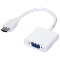 HDMI to VGA Adapter White
