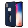 Galaxy A10 Shockproof Case With Slider Metal Phone Holder  Blue