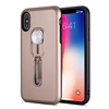 Galaxy A10 Shockproof Case With Slider Metal Phone Holder  Rose Gold