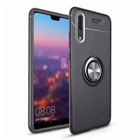 Galaxy A20/30 Autofocus 360 Shockproof Case With Ring Holder Black