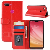 Galaxy A20/A30 Wallet Case Red