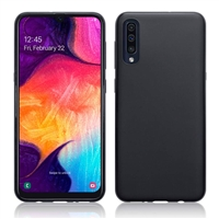 Galaxy A50 Gel Case Black