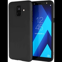 Galaxy A6 (2018) Gel Case Black
