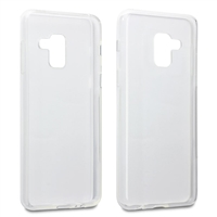 Galaxy A6 Plus (2018)/J8 (2018) Transparent Gel Case