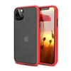 Galaxy A71 Latest Matte TPU Shockproof Hard Case Red