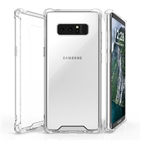 Galaxy Note 8 N950F Shockproof Transparent Gel Case