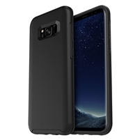 Galaxy S8 Hard Case HeavyDuty Symmetry Design  Black