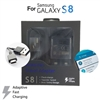 Samsung Galaxy S8 Fast Charger Type-C Cable And Travel Adapter 5V/2A Black