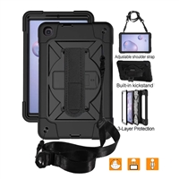 "Galaxy Tab A 8.4"" (2020) SM-T307 Defender Case With Holde 360 Rotaion Black"