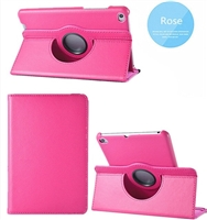 Galaxy Tab A 8.4 (2020) SM-T307 360 Rotaion Wallet Case Rose
