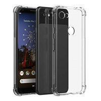 Google Pixel 3A Shockproof Transparent Gel Case