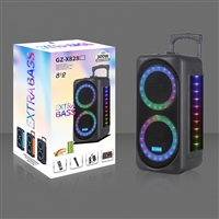Extra Bass GZ-X828 Disco Light 300W Bluetooth Trolley Speaker