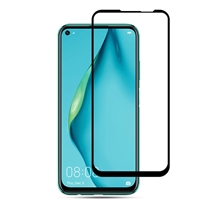 Huawei P40 Lite 5D Full Cover Tempered Glass Black