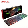 iMICE AK-800 Backlight USB Wired Gaming Keyboard Black