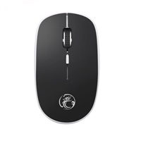 iMICE G-1600 Plus 2.4g Silent Slim Wireless Mouse Black