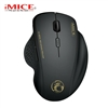 iMICE G6 2.4GHz Adjustable 1600DPI Silent Wireless Office Mouse Black