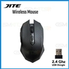 JITE-5001 Adjustable DPI USB Wireless Gaming Mouse Black