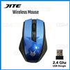 JITE-5013 Breathable Backlight USB Wireless Gaming  Mouse Blue
