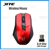 JITE-5013 Breathable Backlight USB Wireless Gaming  Mouse Red