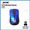 JITE 5020 USB Wireless Gaming Mouse Blue